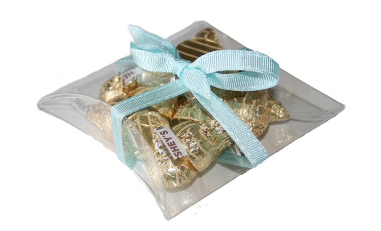 Clear Favour Pillow Box