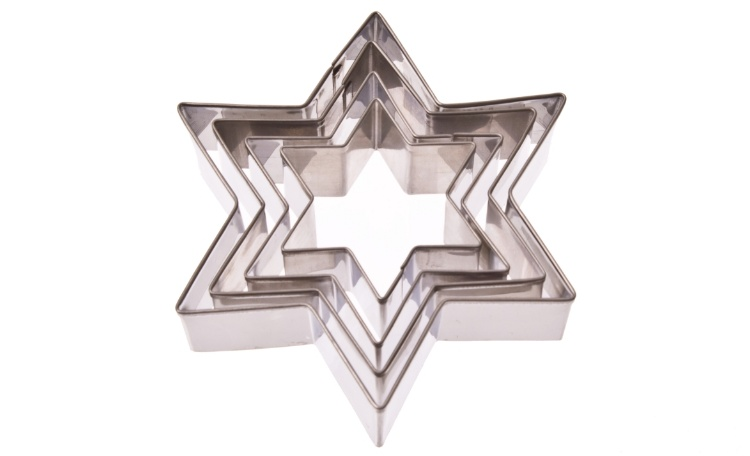 Star Cookie Cutters - Set of 4