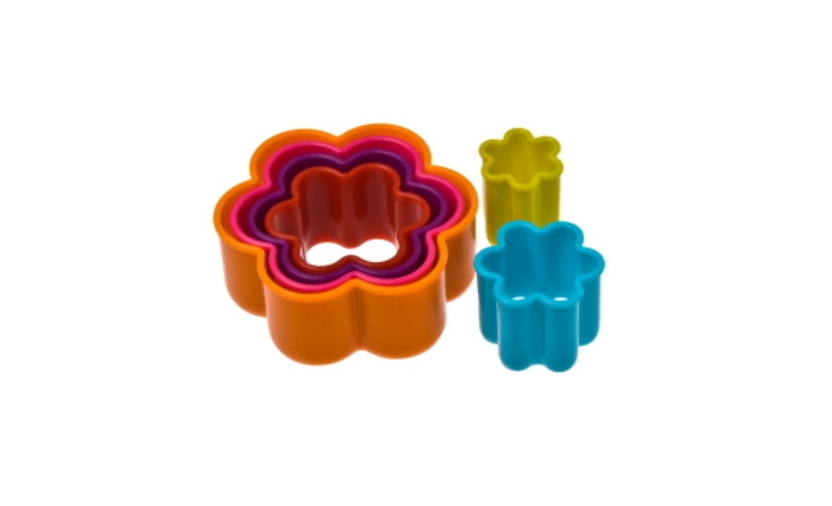 Flower Cookie Cutters 6pce Set