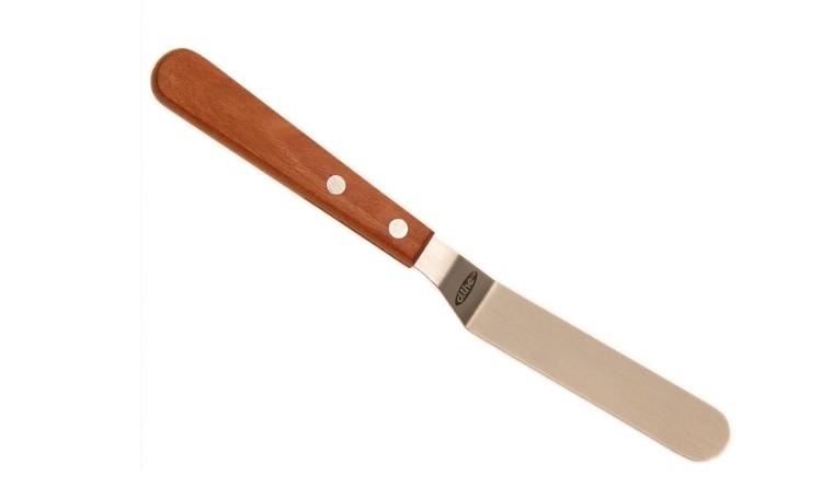 Offset Wooden Palette Knife 11cm