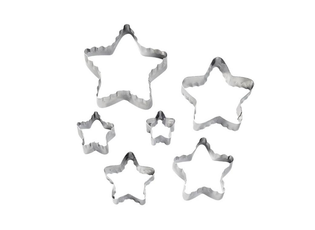Wilton Star Fondant Double Cut-Outs Set