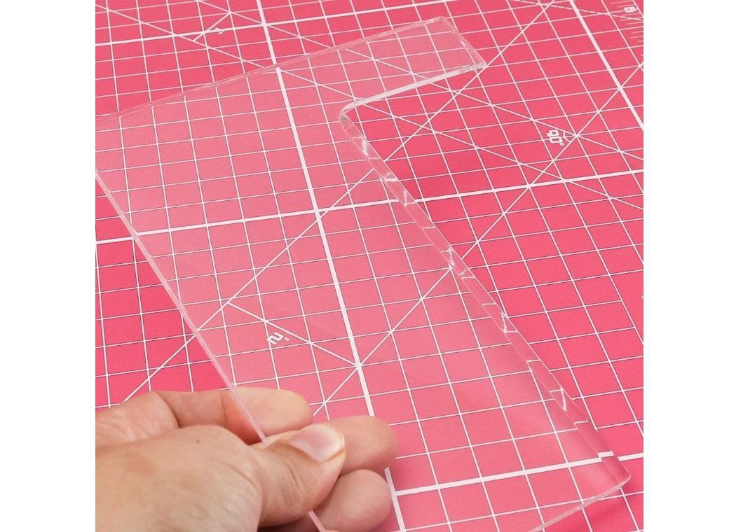 Acrylic Side Scraper - Large Straight Edge