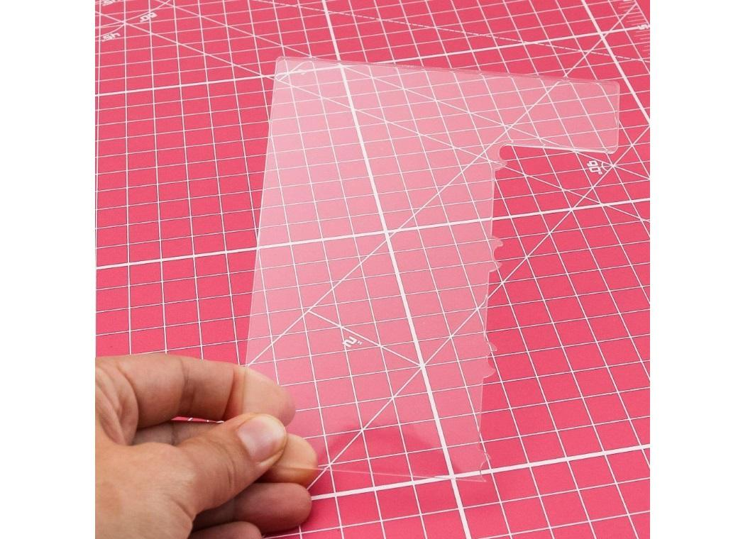 Acrylic Side Scraper - Pinched Edge