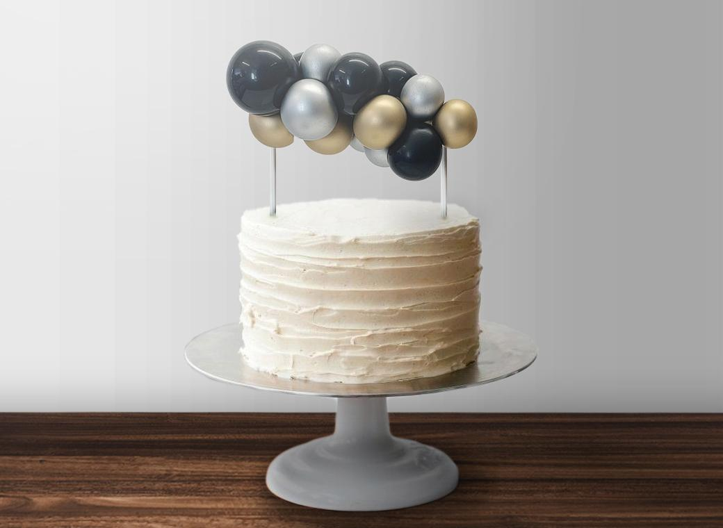 Balloon Garland Cake Topper - Hollywood