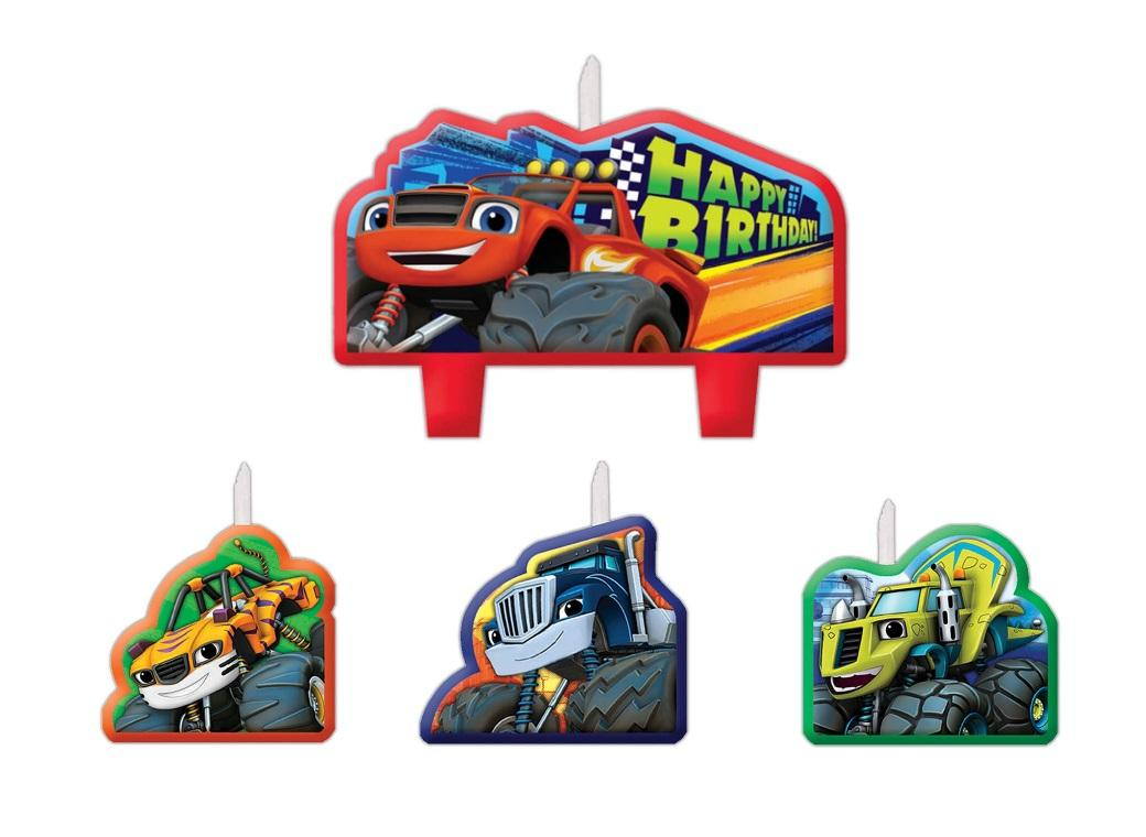 Blaze & the Monster Machines Candle Set