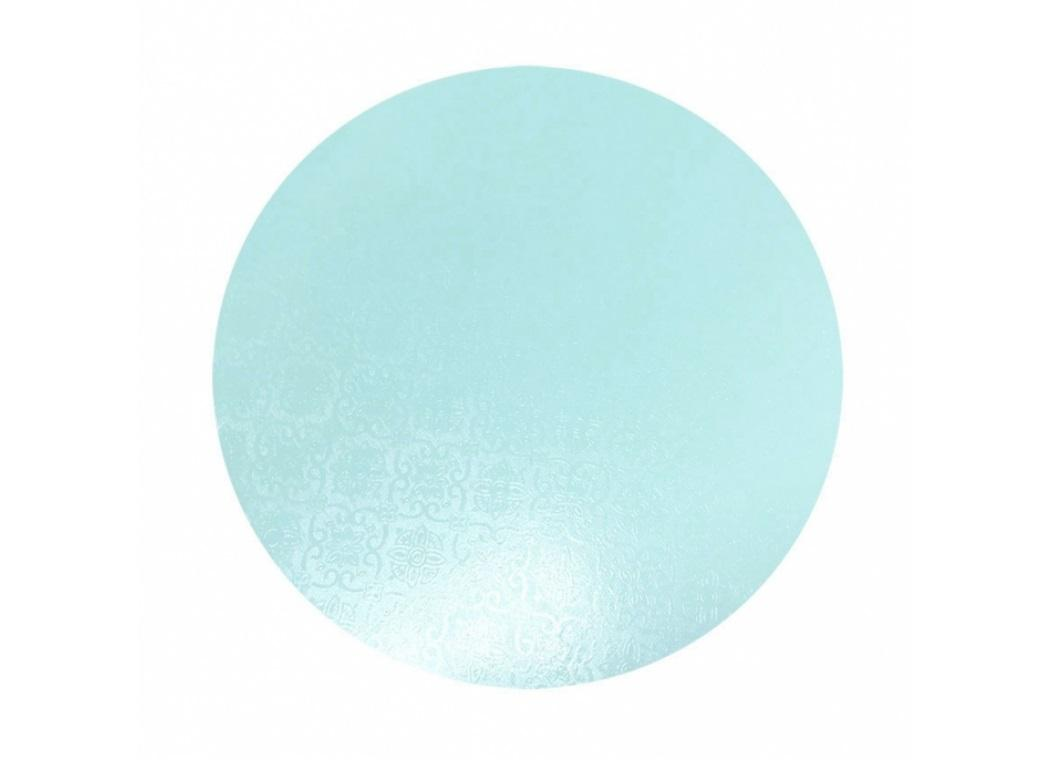 Blue Masonite Cake Board Round - 12""