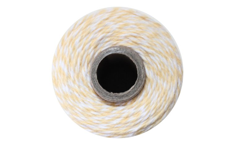 100% Cotton Bakers Twine – Buttercream