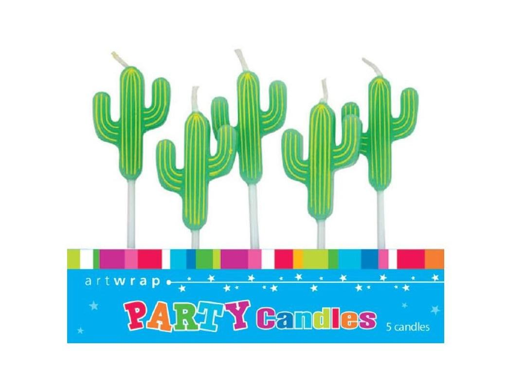 Party Candles - Cactus