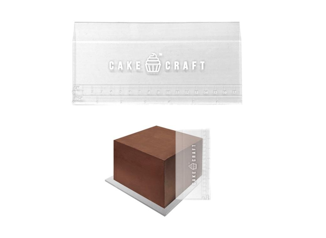 Cake Craft Acrylic Scraper 7in