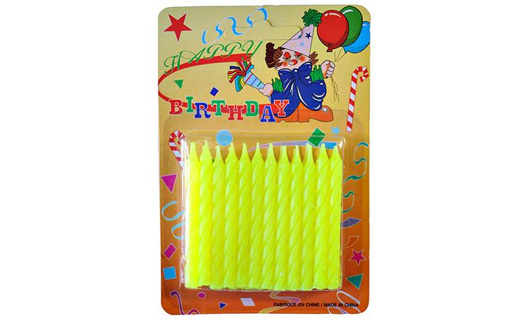 Twist Candles Lemon - 24pk
