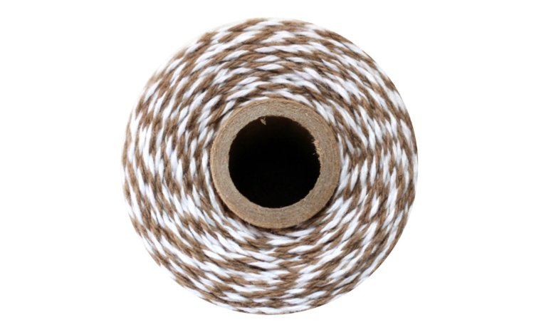 100% Cotton Bakers Twine – Cappuccino