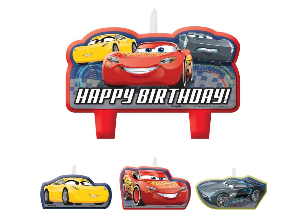 Cars 3 Candle Set