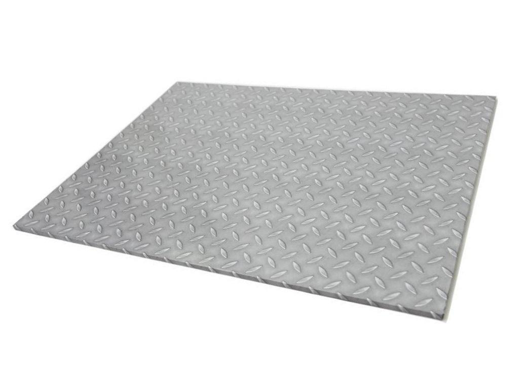 Checker Plate Masonite Cake Board Rectangle