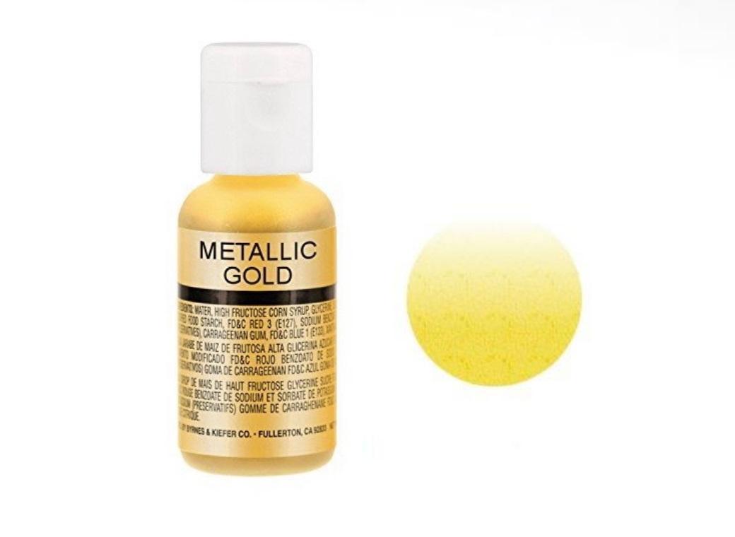 Chefmaster Airbrush Colour - Metallic Gold