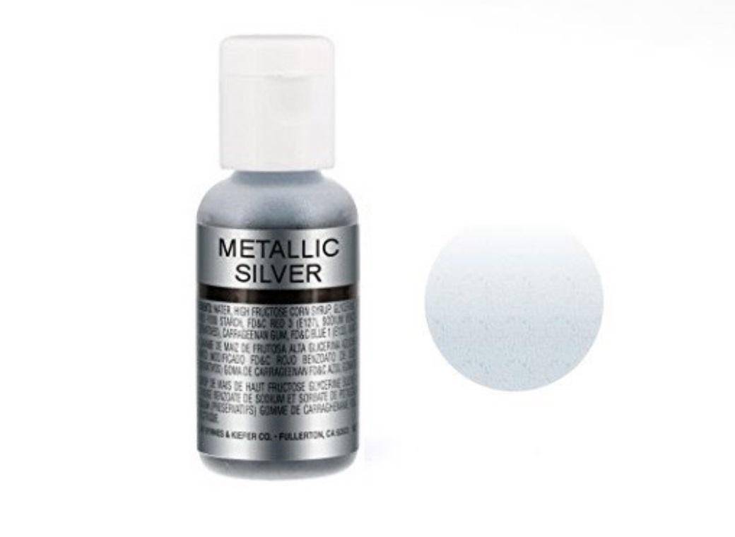 Chefmaster Airbrush Colour - Metallic Silver