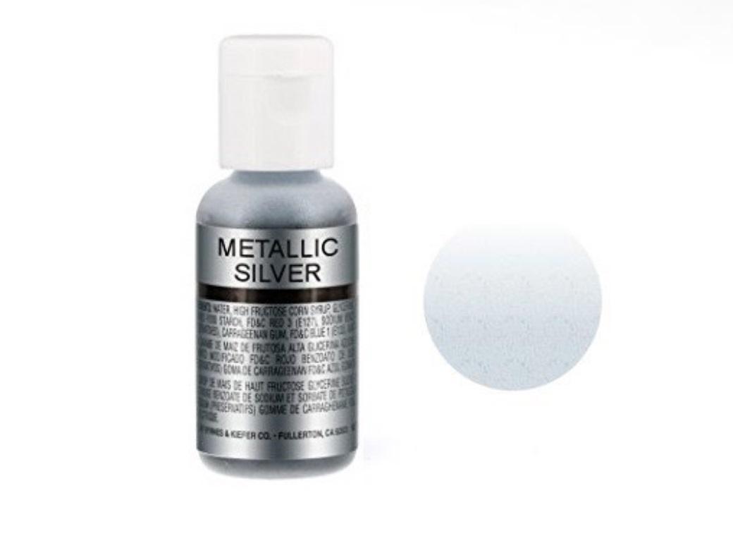 Chefmaster Airbrush Colour - Metallic Silver