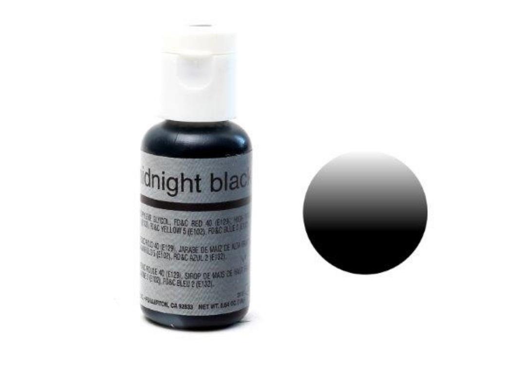 Chefmaster Airbrush Colour - Midnight Black
