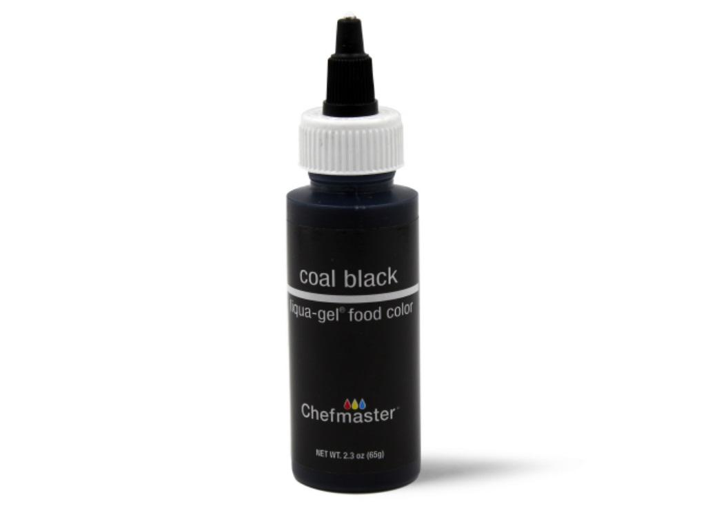 Chefmaster Gel Colour 65g Coal Black