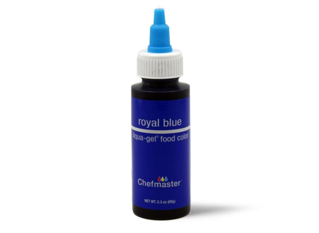 Chefmaster Gel Colour 65g Royal Blue