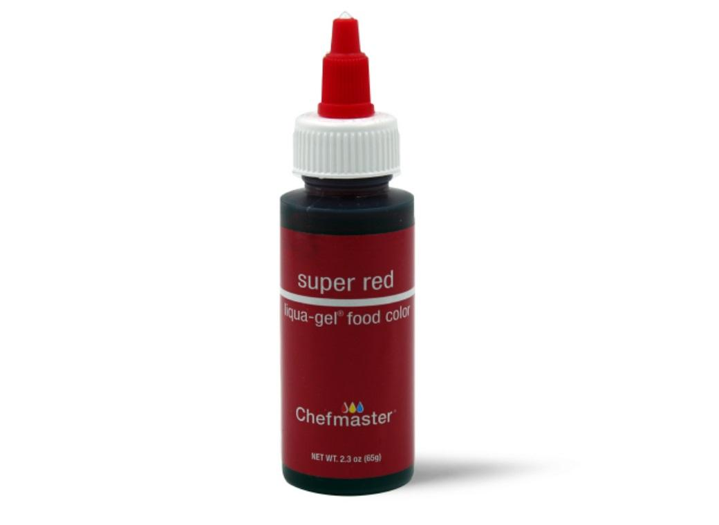 Chefmaster Gel Colour 65g Super Red