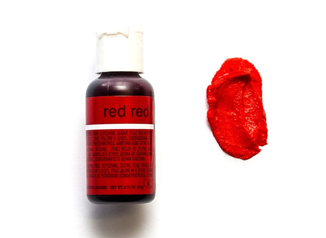 Chefmaster Gel Colour - Red Red
