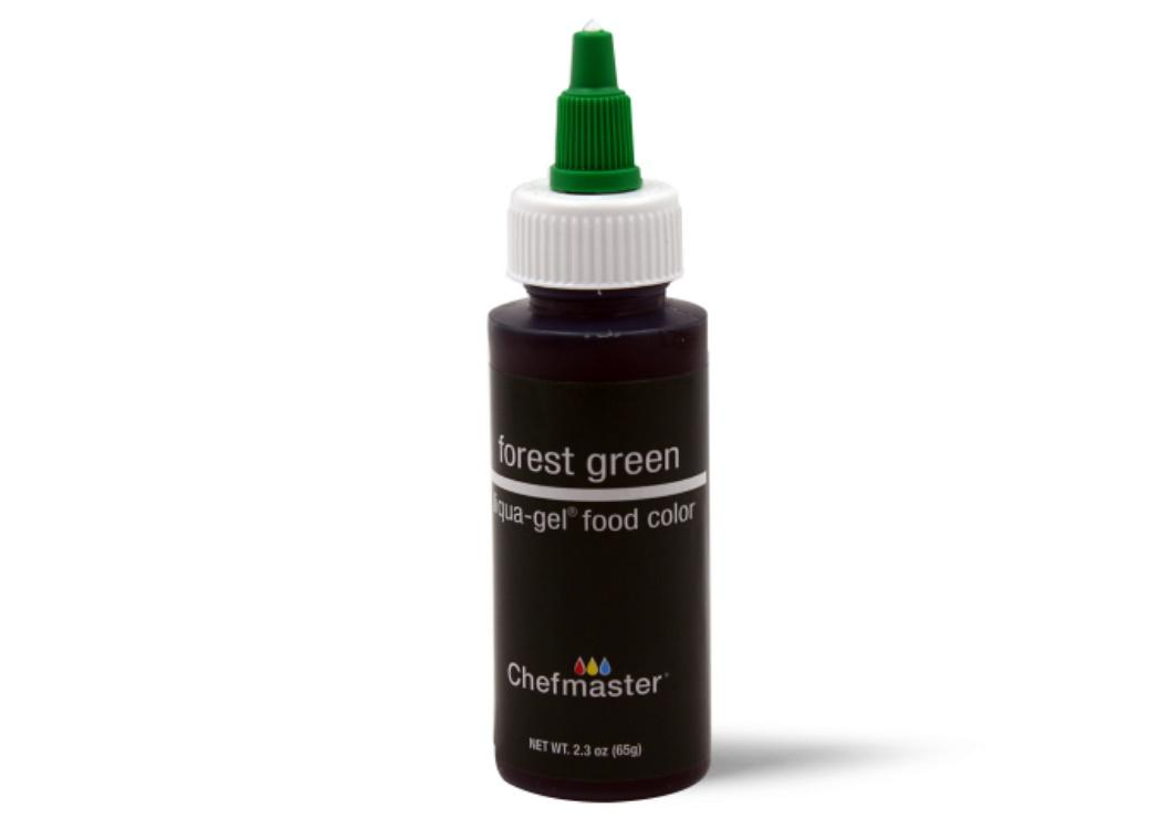 Chefmaster Gel Colour 65g Forest Green