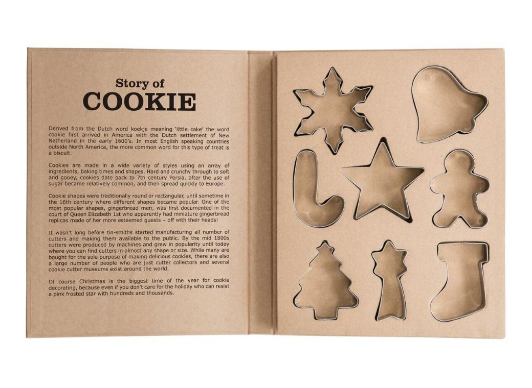 Christmas Cookie Cutter Set 8pce