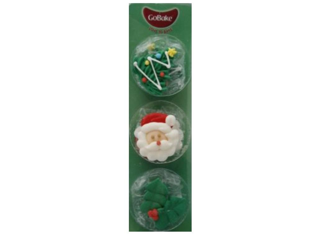 GoBake Dec Ons Christmas - 6pk LAST ONE
