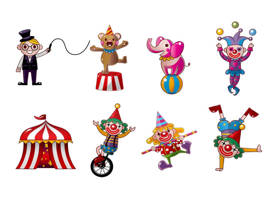 Edible Icing Image - Circus Icon Sheet