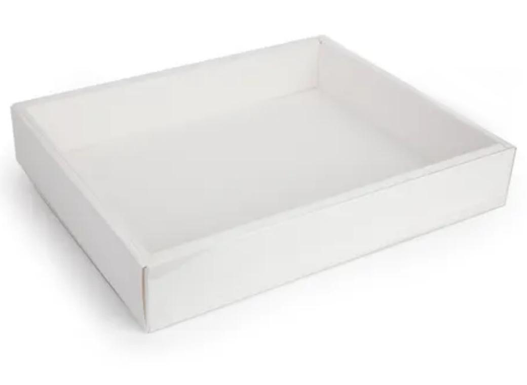Cookie Box Rectangle with Clear Lid 32cm x 25cm