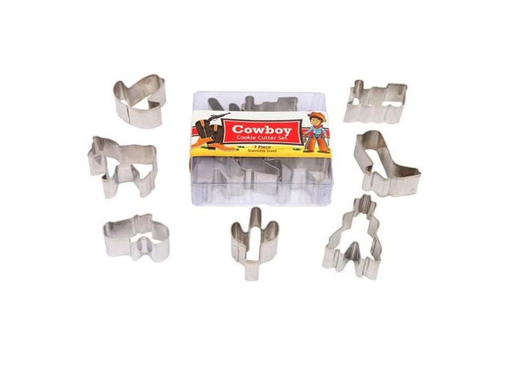 Cowboy Cookie Cutters - 5pk
