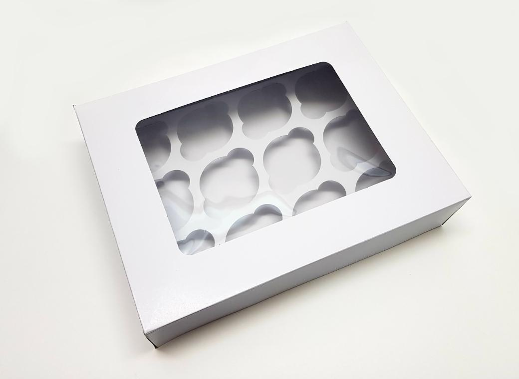 Cupcake Box 3in 12-Hole
