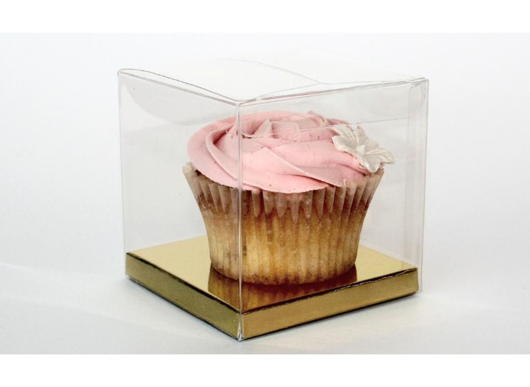 Clear Cupcake Boxes - 10pk