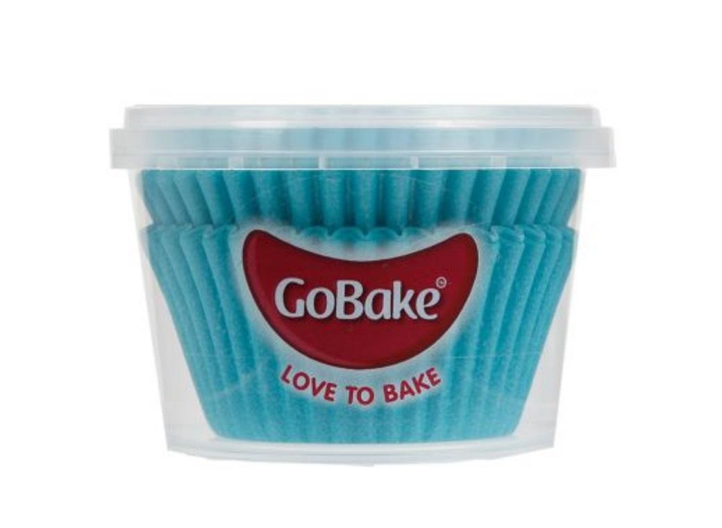Cupcake Cases 72pk Blue