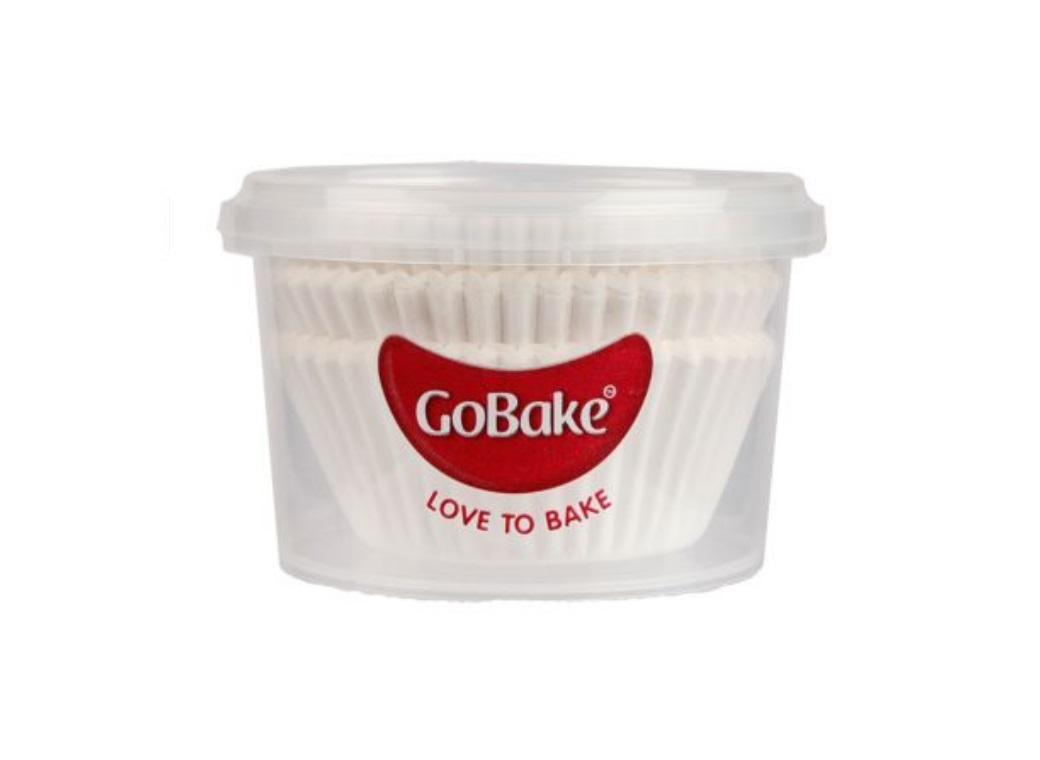 Cupcake Cases 72pk White