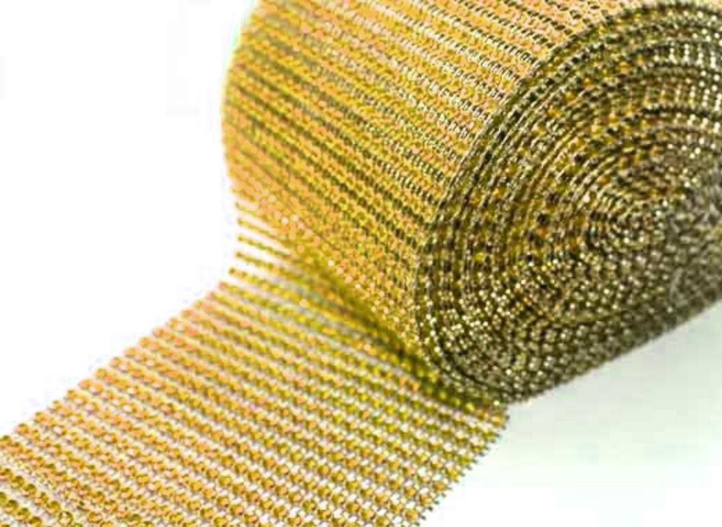 Diamante Wrap - Gold