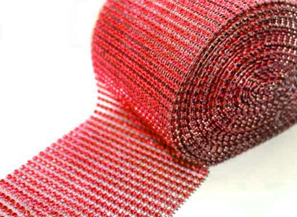 Diamante Wrap - Red