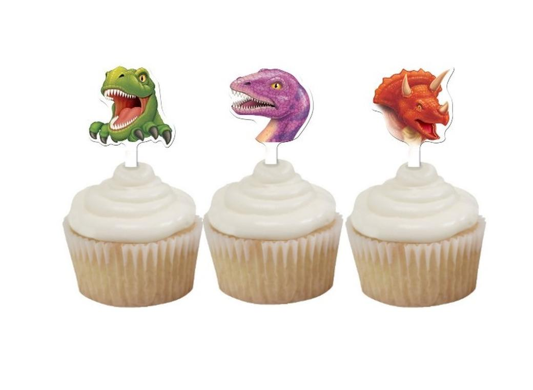 Dino Blast - Cupcake Toppers