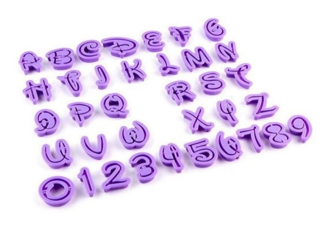 Magical Alphabet Number Set 36pce