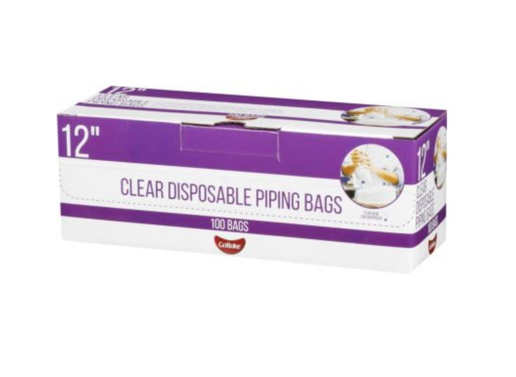 GB Disposable Icing Bags 100pk - 12in