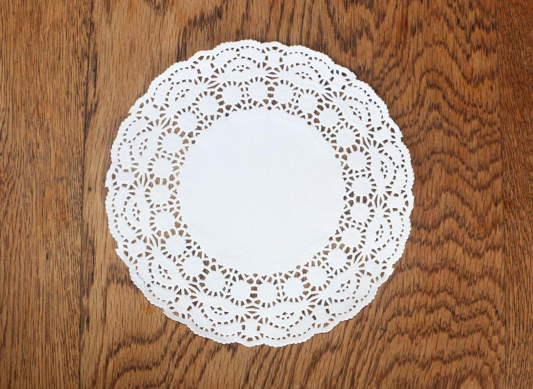 White Doilies - 193mm - 25 Pk