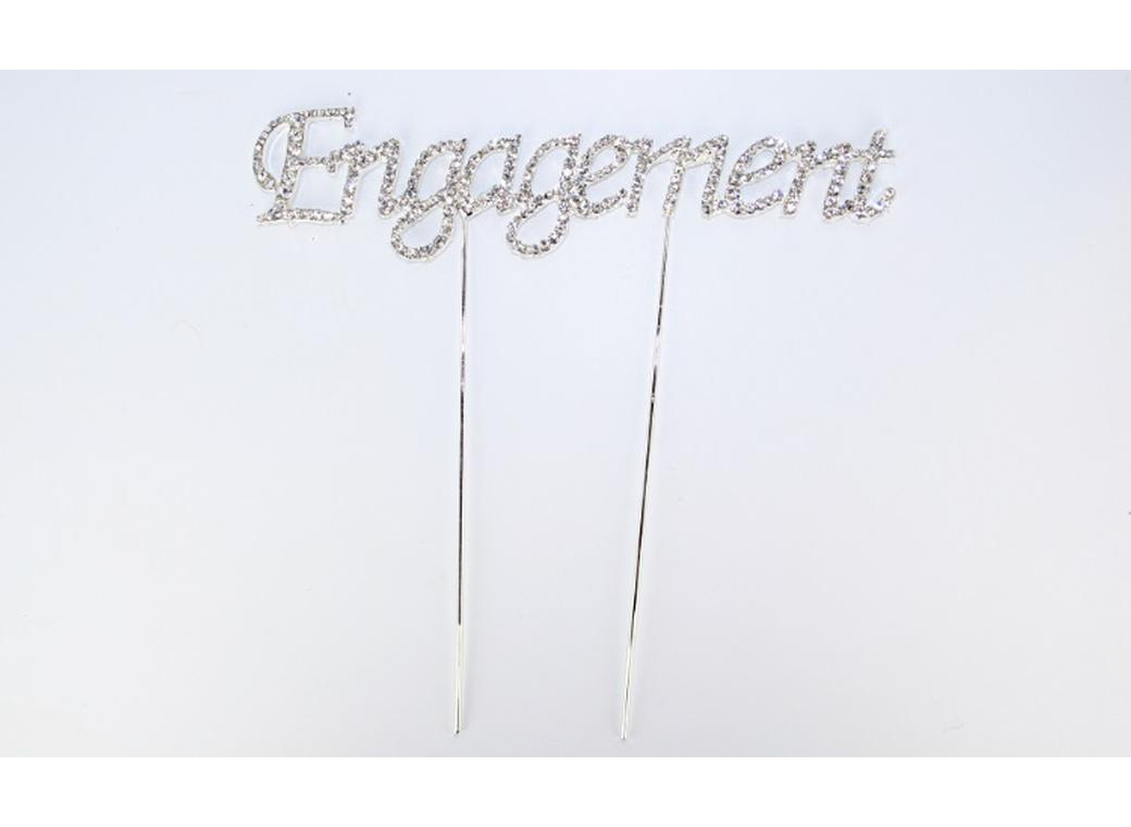 Diamante Topper - Engagement