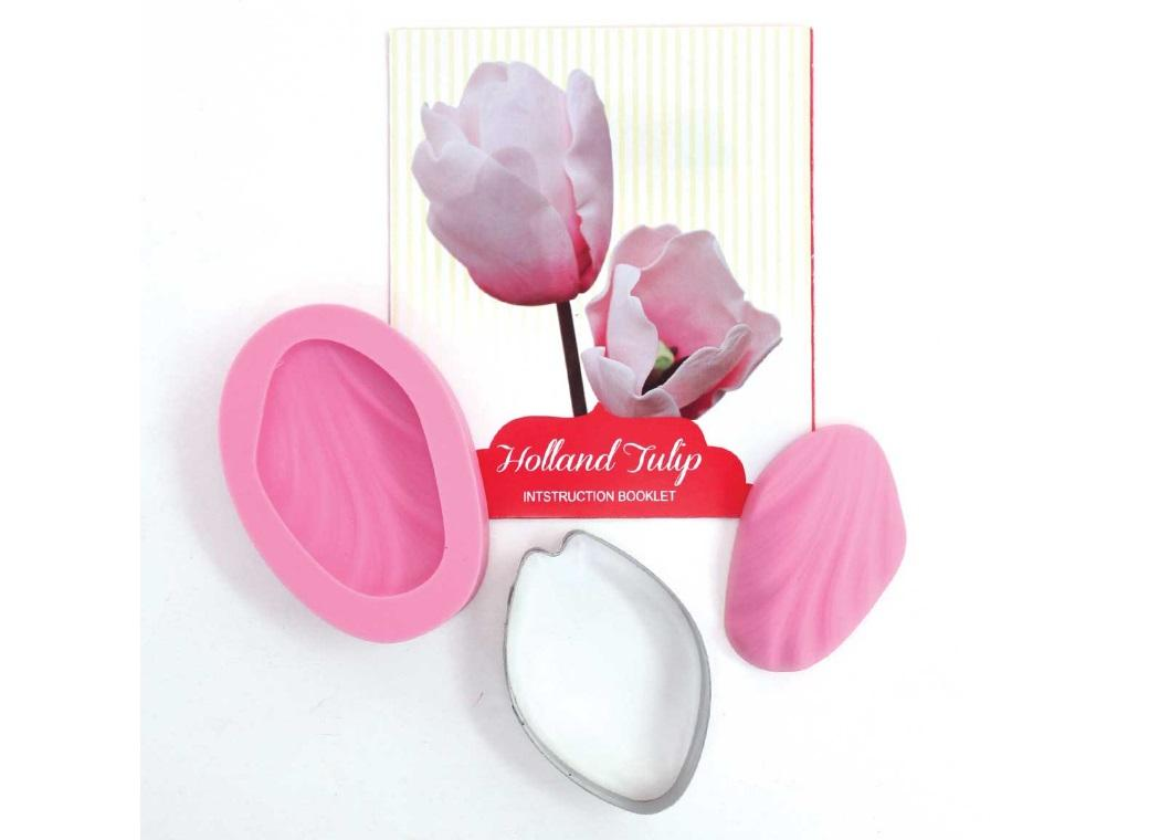 Fondant Cutter Set - Holland Tulip