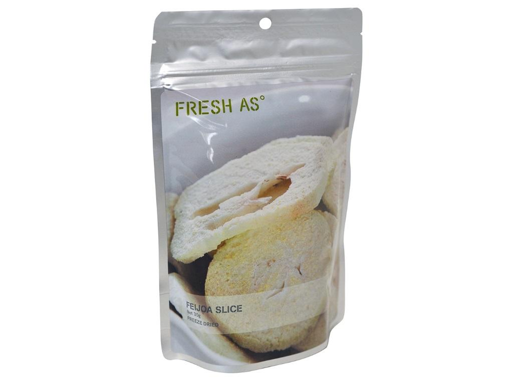Fresh As Freeze Dried Feijoa Slices