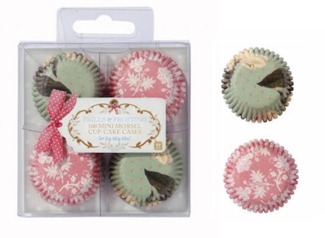Frills & Frosting Mini Cupcake Cases 100pk