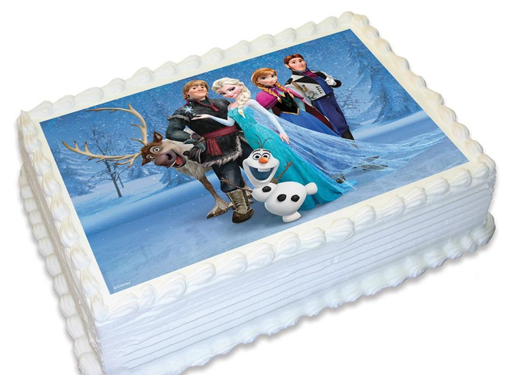 Edible Icing Image - Frozen Group A4