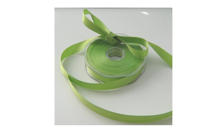 Satin Ribbon - Pistachio 10mm