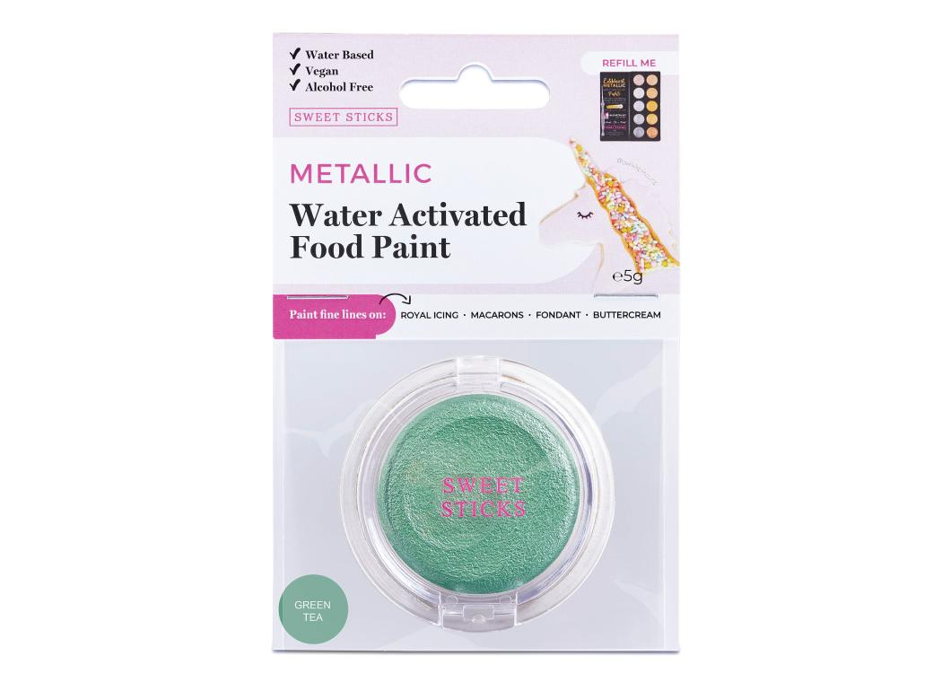 Water Activated Food Paint - Green Tea