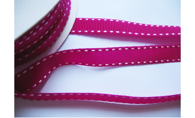 Grosgrain Ribbon - Hot Pink