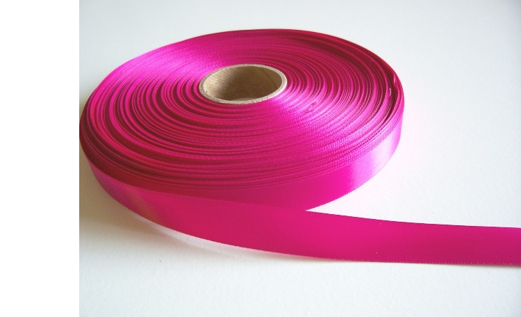 Satin Ribbon - Hot Pink